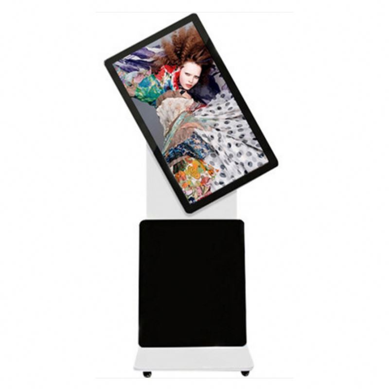 high quality advertising machine rotating lcd display kiosk