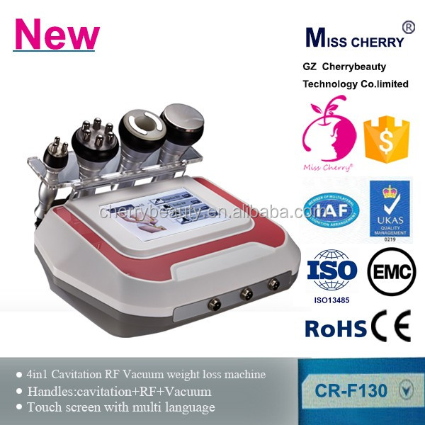 cavitation ultrasonic slimming machine / ultrasound vacuum cavitation / Rf cavitation slimming