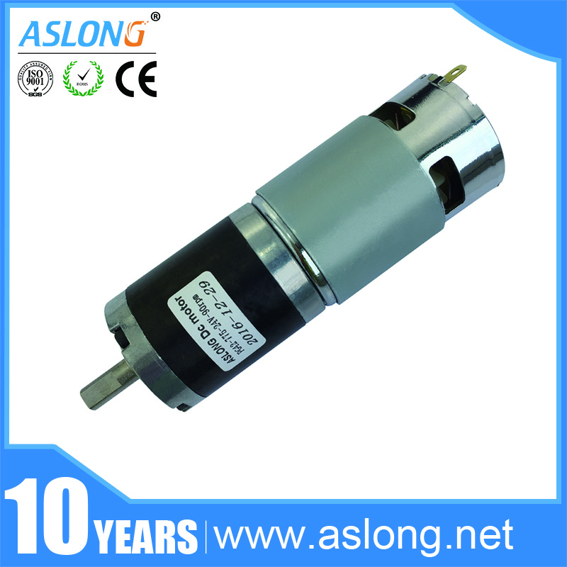 2017 new arrival low noise 45mm planetary dc <strong>motor</strong> with gearbox 24v