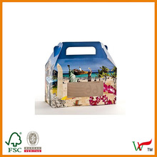 Horizontal Beach Design Window Candy Totes