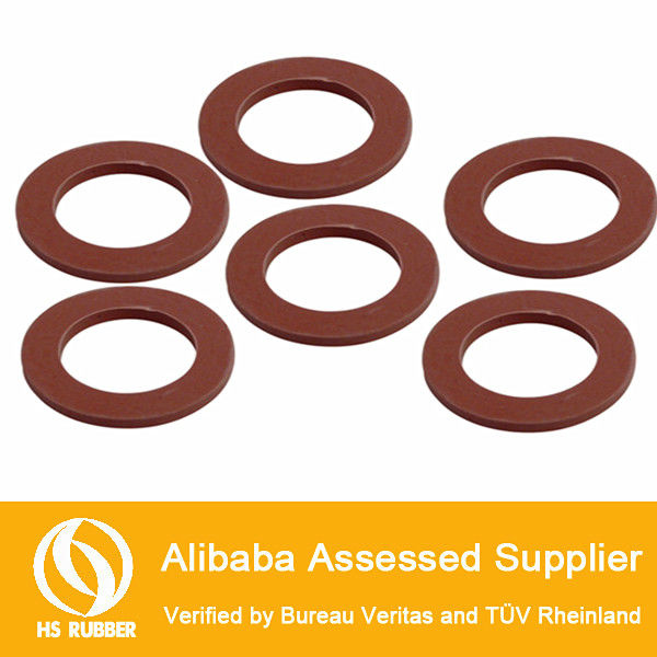 Coloured sealing silicone o ring