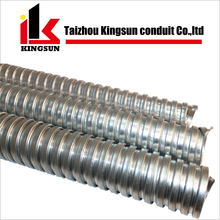 stainless steel metal corrugated pipe gi flexible conduit