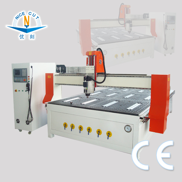 NICE-CUT ALUMINUM METAL WOOD PLASTIC STONE PLYWOOD CNC MACHINE