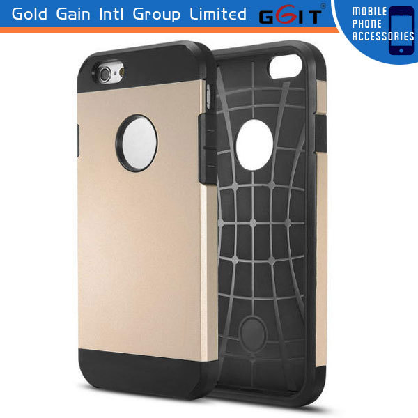 Best Selling Armor Case for iPhone 6 4.7 '' Armor Hard Soft Cover