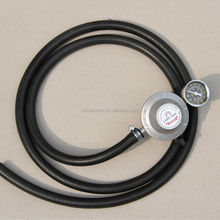 10*16mm Black LPG Gas Hose Pipe with Yellow Line,Gas Hose For Stove