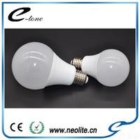 New Products 2017 Plastic House And Aluminum Body Globe Bulbs 12V Dc Led Light Bulb E27