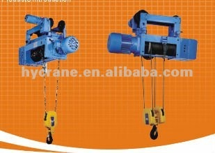 Foot mounted electric wire rope hoists 220v