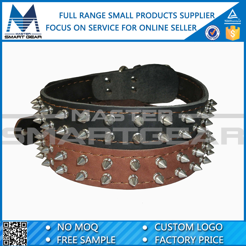 Wholesale Leather Pet Spike Dog Collar Buckle