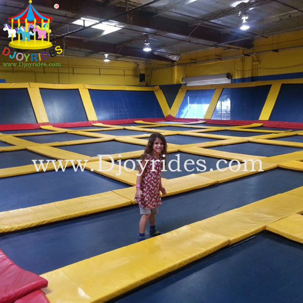 High Jumping Bed Trampoline Park For Sale