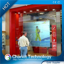 Chariot 3m vikuiti dark grey/gray/transparent/white rear projection film, rear projection screen with low price.