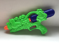 Plastic cheap toys water gun for kids