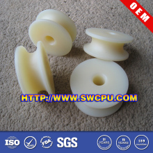 Round Belt Type Plastic Pulley / U Groove Plastic Pulley Wheel