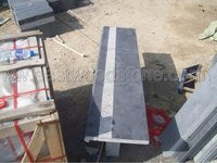 honed blue limestone coping