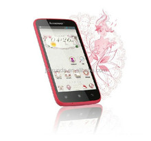 Original Lenovo A516 MT6572 4GB ROM Android 4.2.2 4.5 Inch IPS Capcitive touch screen Dual Core cellphone Pink