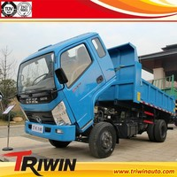 4x2 6 wheel drive RHD LHD 3m3 china made brand new 2t mini dumper truck