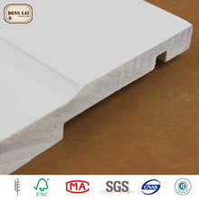 Cheap Price Timber Chinese Fir white gesso primed finger Joint Board Solid Wood Wall Panel