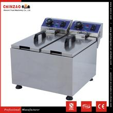CHINZAO Direct Buy China Products 4L+4L Oil Capacity Electric Churro Deep Fryer Machine