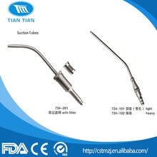 Dental Instruments Surgical Implant Instruments Sunction Tubes