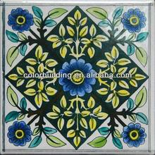 Decorative Wall and Floor Azulejos Tiles Handmade Porcelain Tiles Home Decor Wall