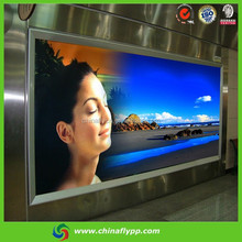 100um Reverse Printing Backlit PET Film