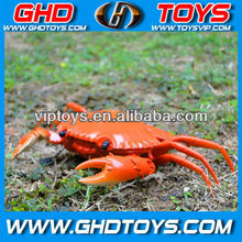 Infrared rc mini crab remote control animal set emulational crab toy