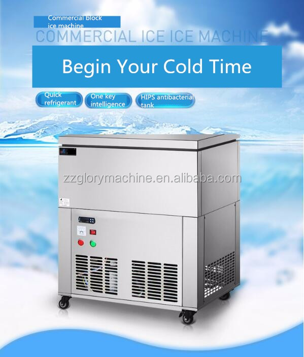 China Supply Snow Ice Block Machine Commercial Cylinder Snow Ice Block Machine/ Snow Ice Block Making Machine/ Block Ice Machine