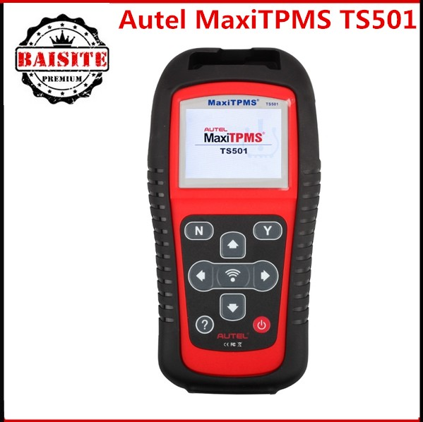 100% original AUTEL MaxiTPMS TS501 With OBD2 Adapters TPMS Diagnostic & Service Tool Update online