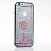 Lovely cute jewelry cell phone sticker for Iphone best selling