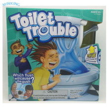 Plastic Educational Toilet Trouble Game In Board Game Water Spray Trouble Tricky Game
