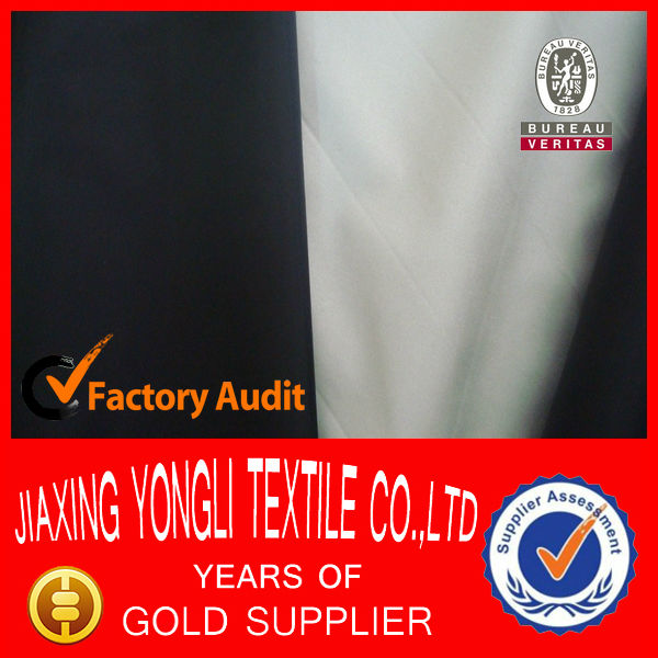 170T dye and silver coated watperoof car cover fabric