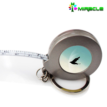 2016 New Arrival Sublimation Blank Steel Measuring Tape With Keychain,Digital Measuring Tape