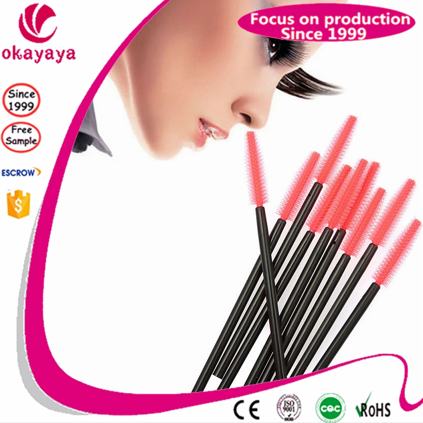 Free Samples Disposable Mascara Wands Eyelash Brushes Lash Extension for beauty salon
