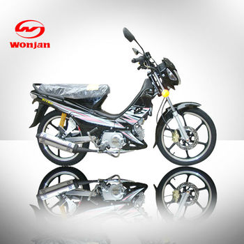 2012 new black 110cc electric motorcycle (WJ110-5D)