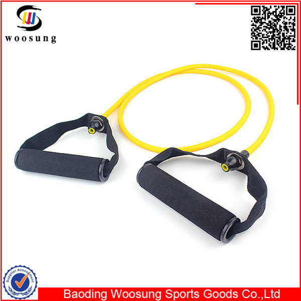 Rubber Fitness Exercise Belt Elastic Pull Rope