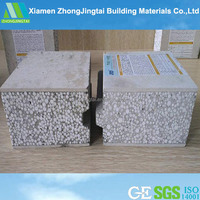 Fast installation eps cement sandwich paintable decorative concrete wall panels