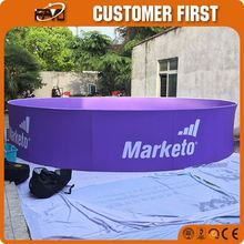 Exhibition Portable Curtain Electric 360 Degree Rotation Mannequin Stand Banner