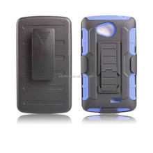 Heavy Duty Belt Clip Case for LG Tribute LS660 Optimus F60 Transpyre