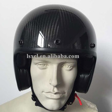 ECE certification carbon fiber half face helmet