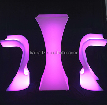 Brand new composite outdoor led furniture made in China