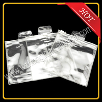 Clear Cosmetic Pvc Pp Transparent Plastic Bag For Packaging