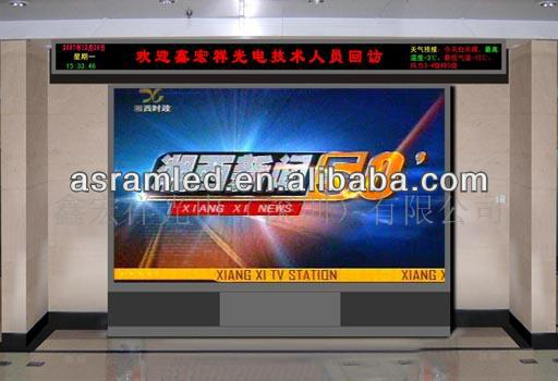 wholesale alibaba express portable giant electronic advertising scrolling lightweight indoor 6mm flexible led curved video wall