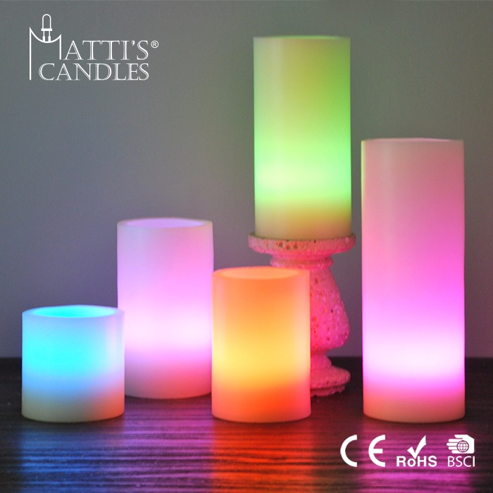 Matti's Color Changing Candle/Candle Decorating/Candle Imports