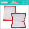Wholesale Printed Transparent PP 2 Pockets A6 Box File Folder Bag With Zipper Closure