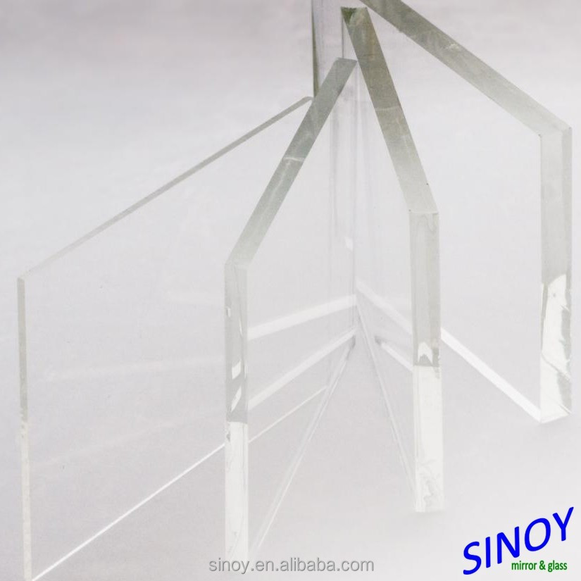 Low Iron Float Glass Extra Clear