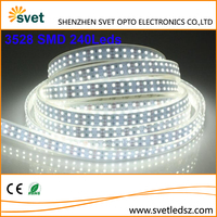 China Cheap Led Auto Tape Strip Suppliers 3528 SMD 2 Row 240Leds / M