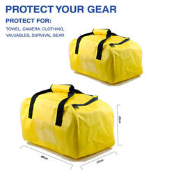 Shenzhen promotion waterpoof dry bag travel luxury duffle hand bags for women men