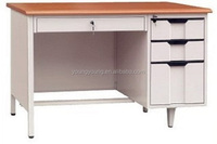 metal office furniture l shaped office desk / metal office table