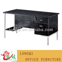 hot sale cheap high quality modern metal steel frame PC desk bedroom study writing desk office computer table