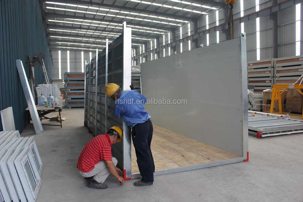 Small Galvanized steel storage prefabricated container house