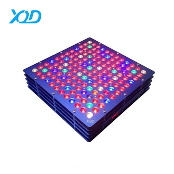 2017 new design switchable full spectrum 180w hans panel led grow light